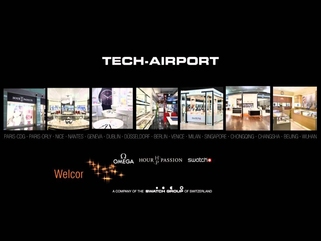 Swatch - Carte de vœux de Tech Airport