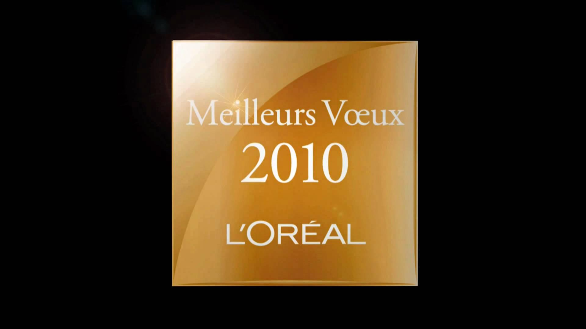 L'Oréal - Carte de Voeux de fin d'année 2009