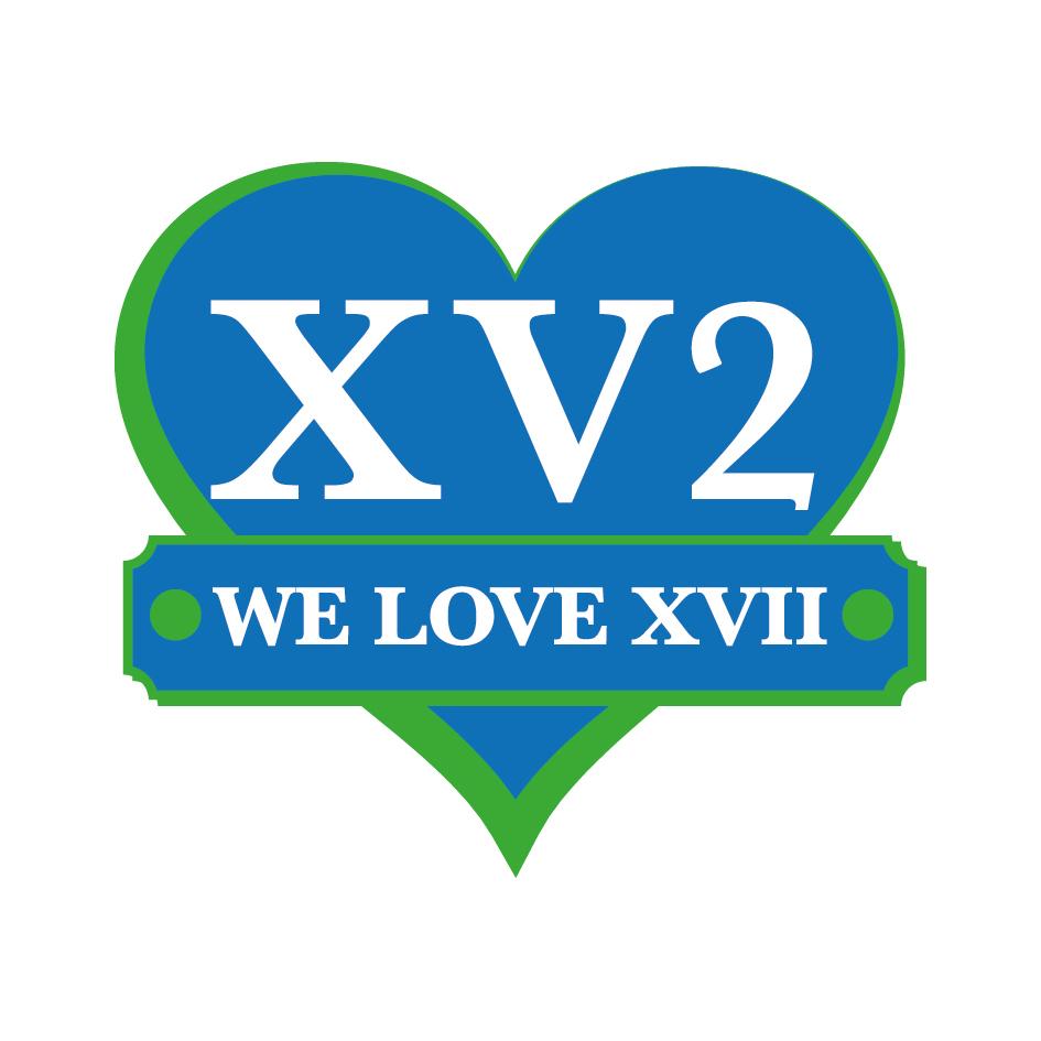 We Love XVII - logo couleur